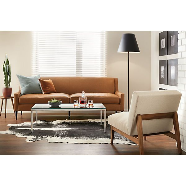 Darby Modern Accent Stool Modern End Tables Modern Living Room