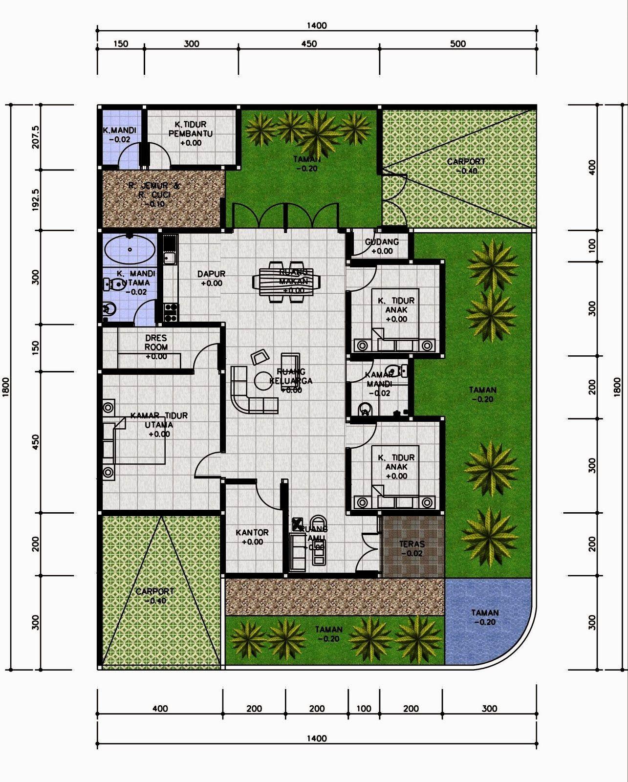 40 Desain Rumah Cantik Minimalis di Desa Paling Populer