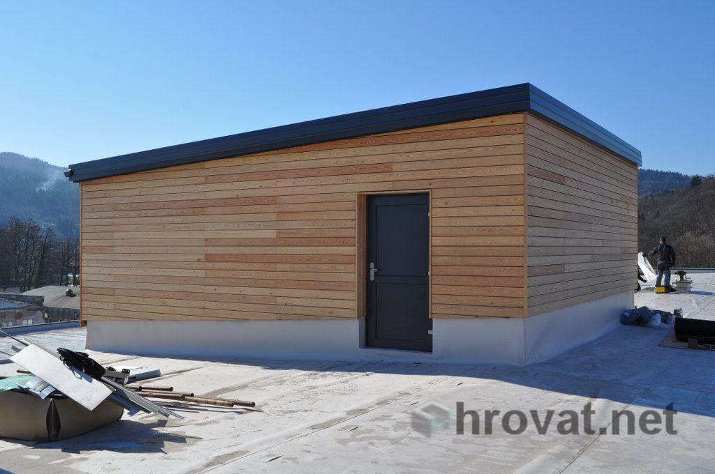 Mizarstvo Hrovat - Wooden facade - Lesena fasada Vrhnika http://www.hrovat.net/izdelki/lesene-fasade/lesena-fasada-vrhnika/
