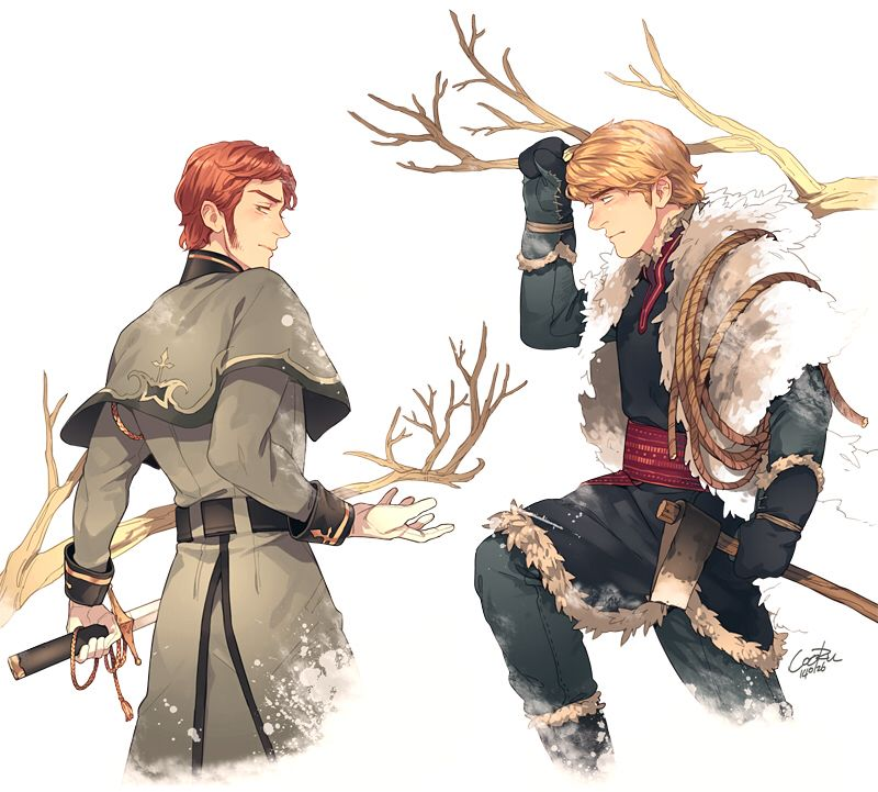 Hans and Kristoff