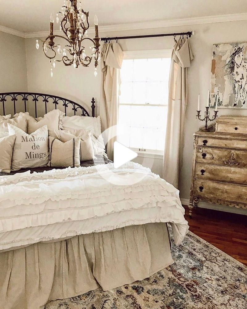 Cottage Francais 2019 Cottage Bedroom Decor French Cottage Decor Bedroom Country Cottage Bedroom French country bedroom design