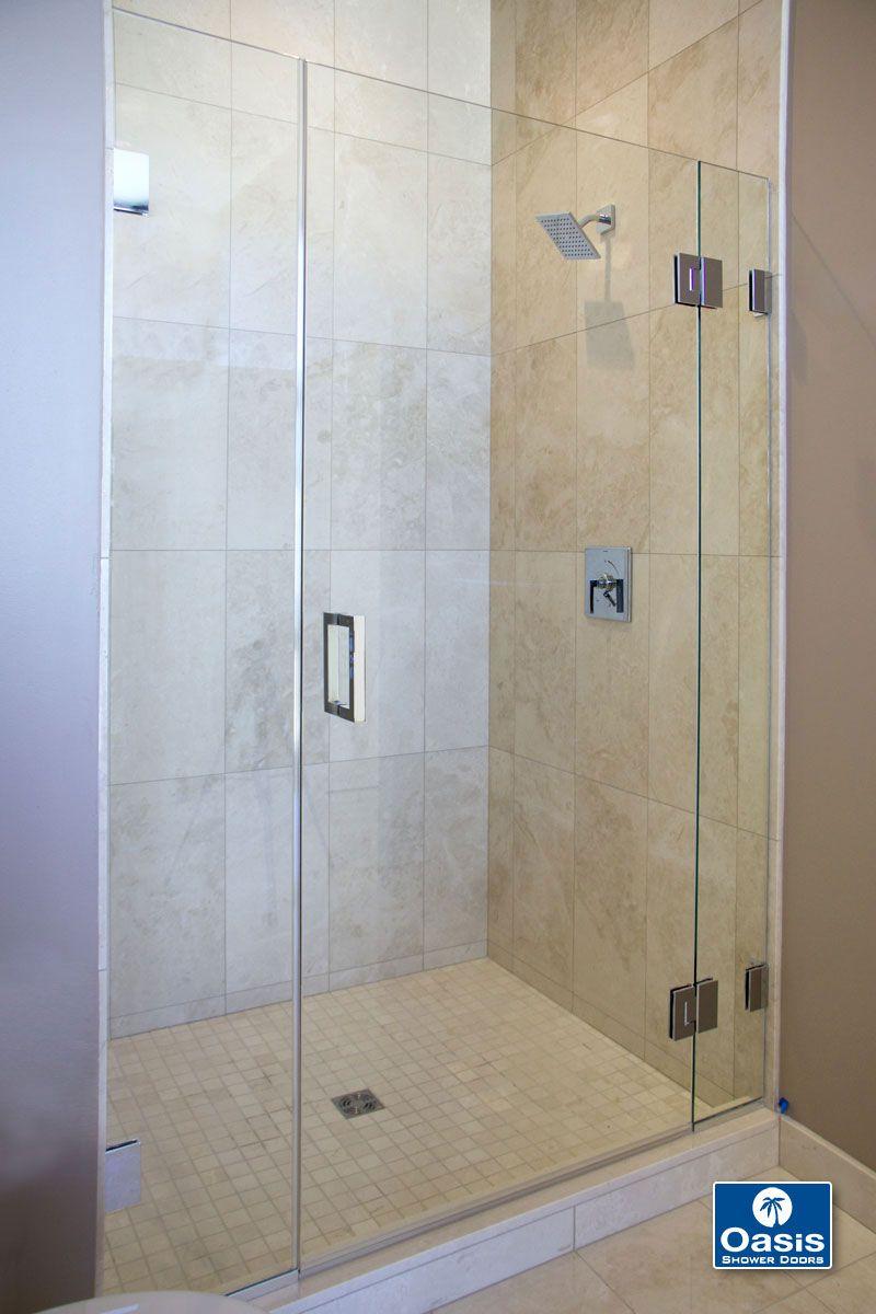 Oasis tub shower glass doors - Frameless Glass Shower Spray Panel Oasis Doors World Best Door Designs Interior Amp Exterior