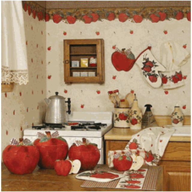 Apple Kitchen Decor Cheap: Apple Kitchen Decor, Kitchen Decor