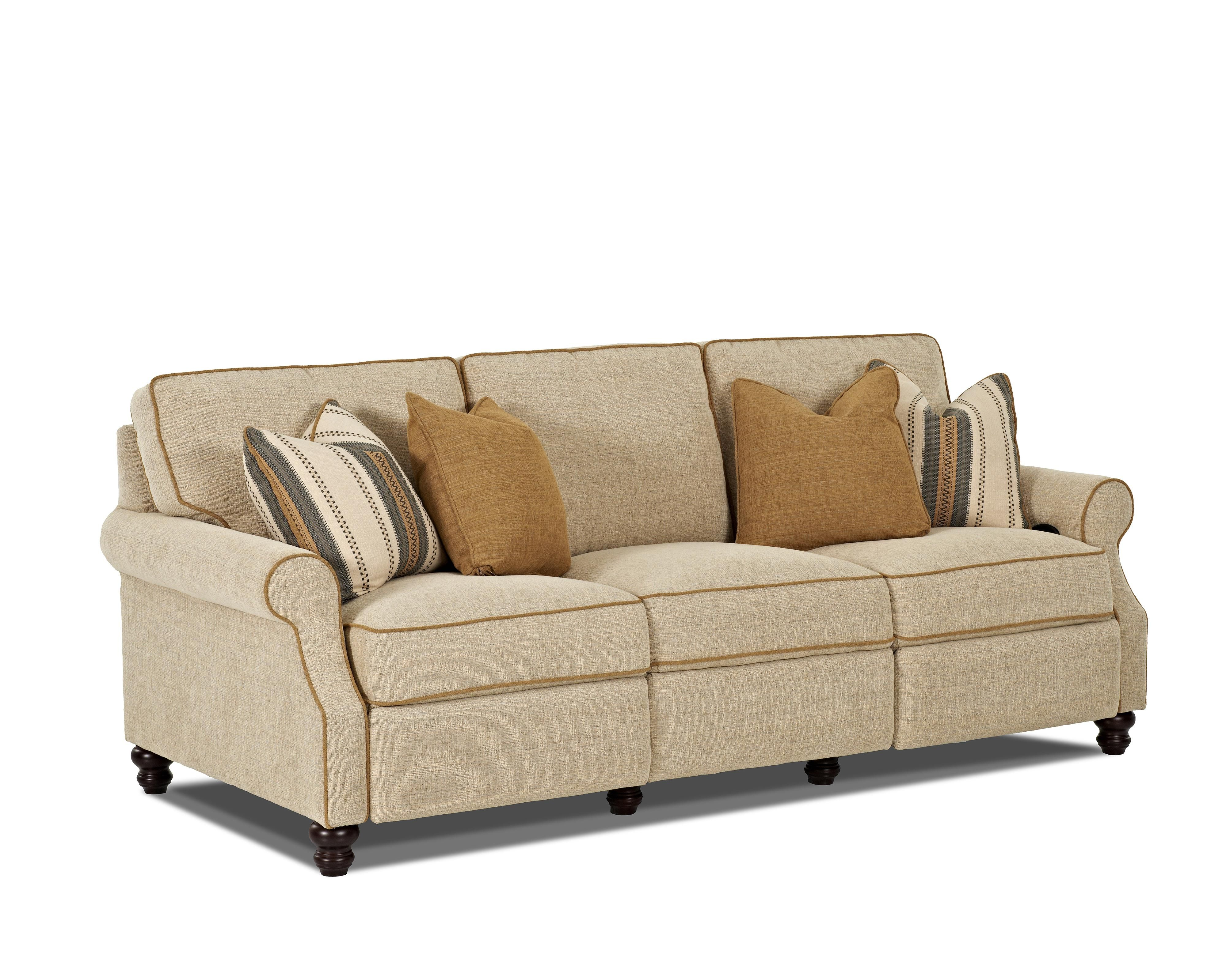 Tifton Traditional Power Reclining Sofa By Trisha Yearwood Home Collection  By Klaussner