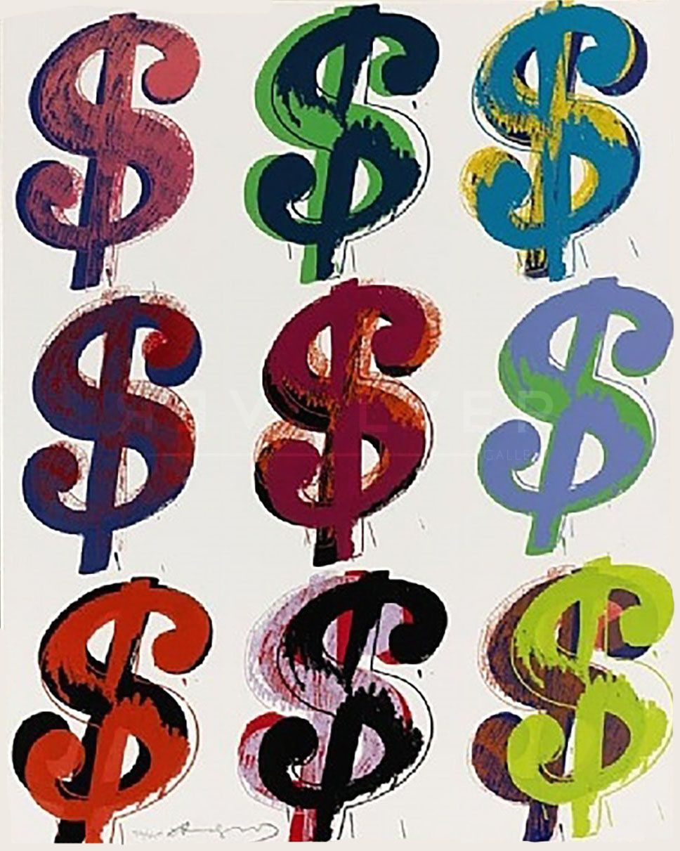 Dollar Sign 9 286 Andy Warhol With