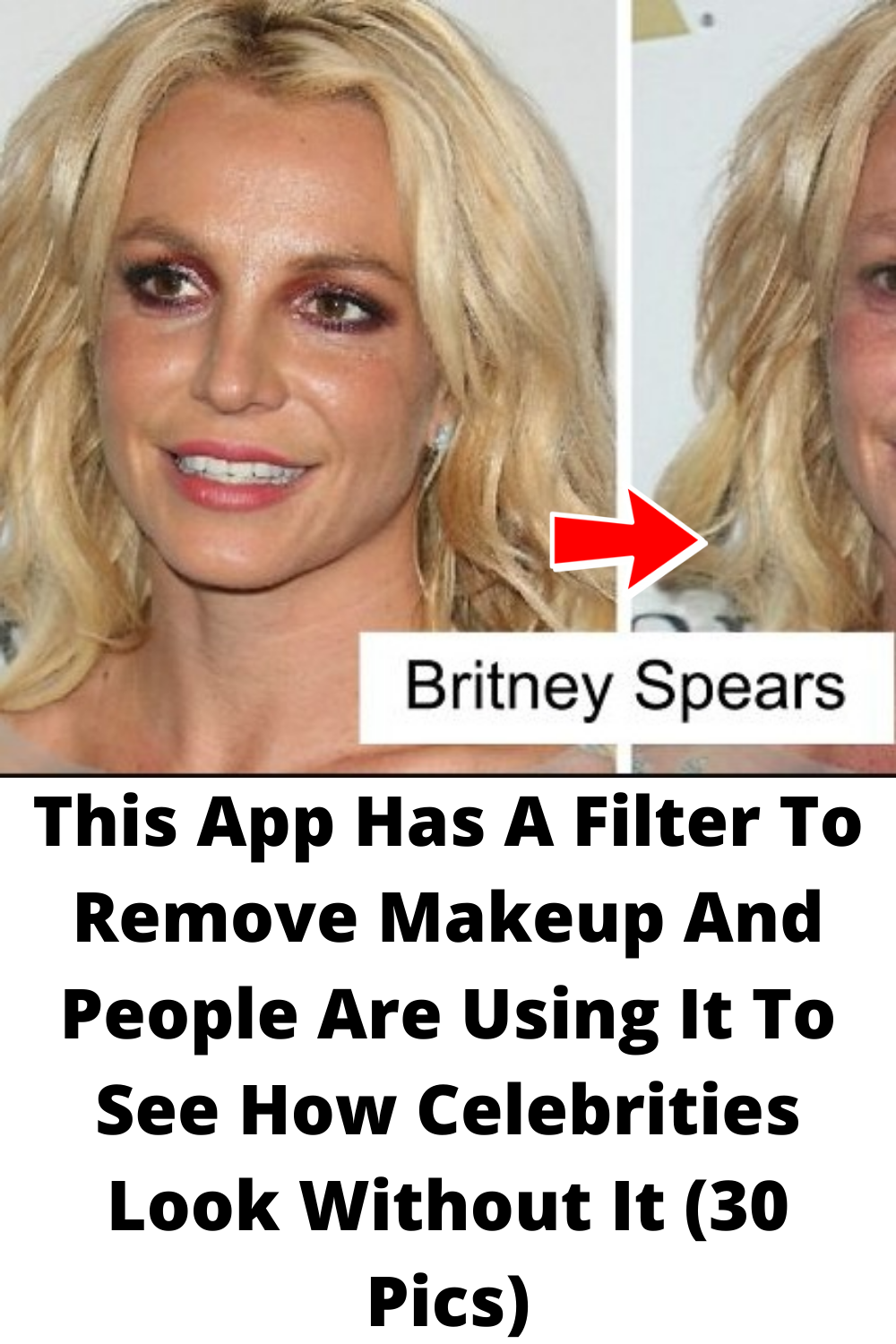 This App Has A Filter To Remove Makeup And People Are