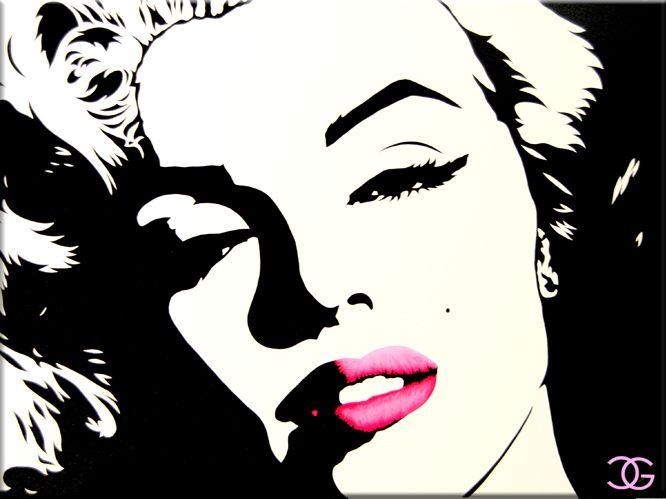 Famous Black And White Paintings On Canvas Google Search Marilyn Monroe Artwork Marilyn Monroe Pop Art Marilyn Monroe Art