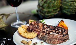 """גרופון - מסעדת ארטישוק הכפרית במושב גיאה: רק 50 ₪ לגרופון בשווי 100 ₪ לבחירה מהתפריט, או ארוחה זוגית שווה ב-119 ₪ בלבד! גם בסופ""""ש ב מושב גיאה. מחיר עסקת גרופון:50₪"""
