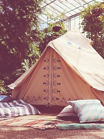 Fp Handpainted Tent With Images Tent Canvas Tent Boho Tent