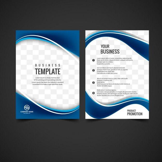 Projeto Do Folheto Brilhante | Business Brochure And Brochures