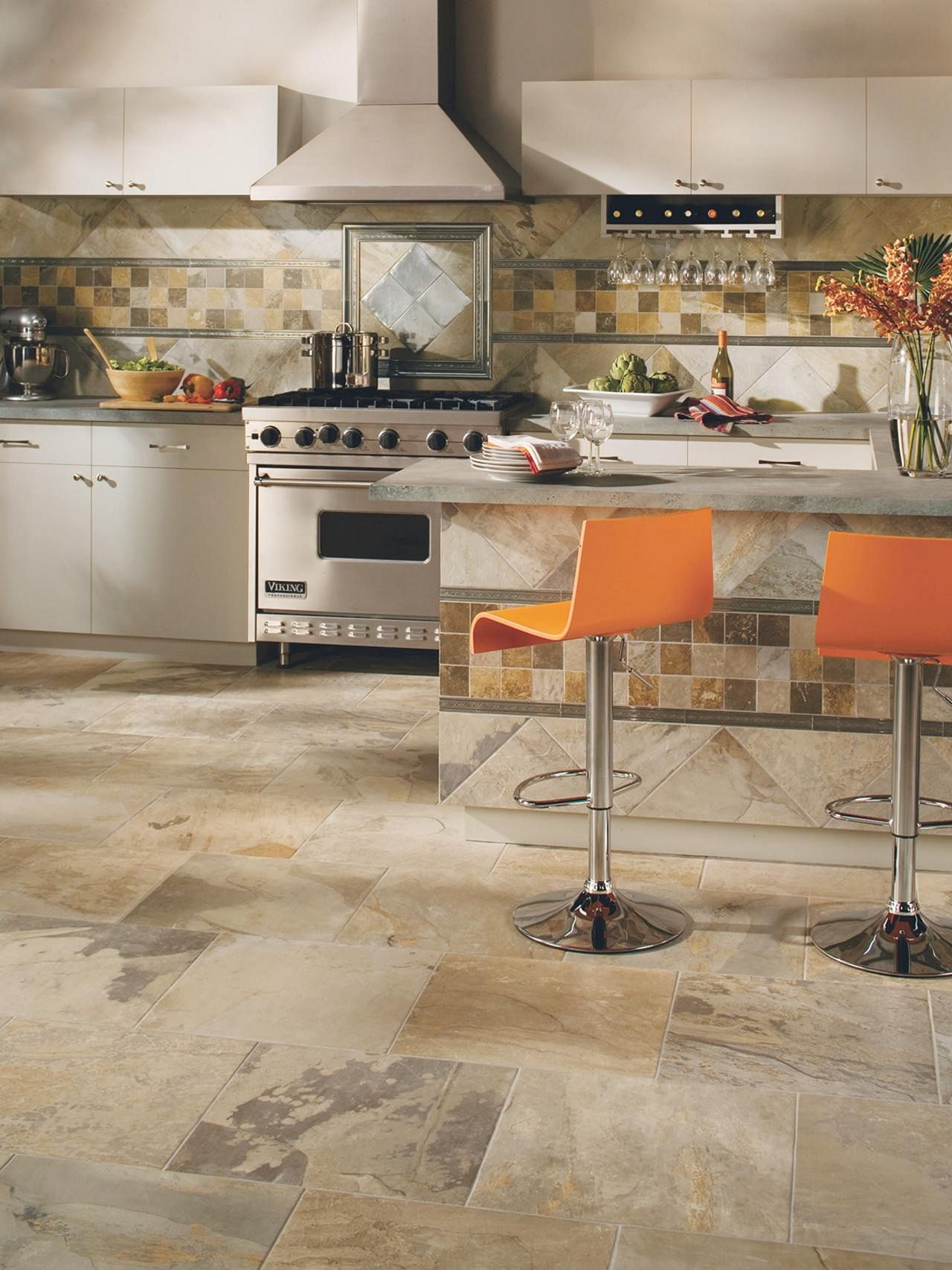 25 incredible kitchen floor design with stone floor ideas kitchen flooring patterned kitchen on kitchen flooring ideas id=54814