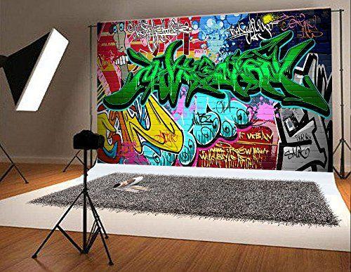 Pin by Basifoto backdrop on Amazon on graffiti background