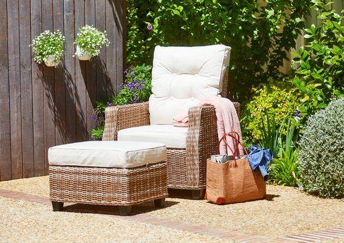 Lekker loungen in de tuin met standenstoel sensommer incl for Standenstoel tuin