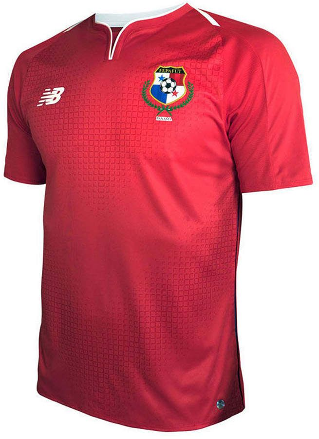 d0a5f6691ae New Balance Men s Panama Soccer National Team Home Stadium Jersey ...