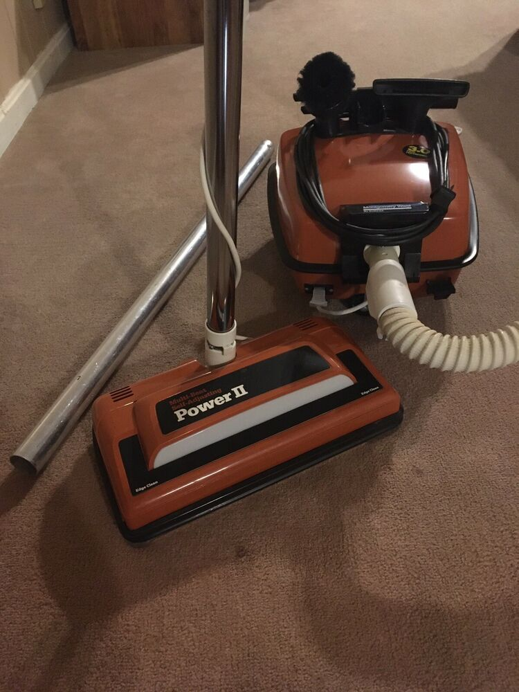 Montgomery Ward Signature Canister Vacuum Cleaner Model