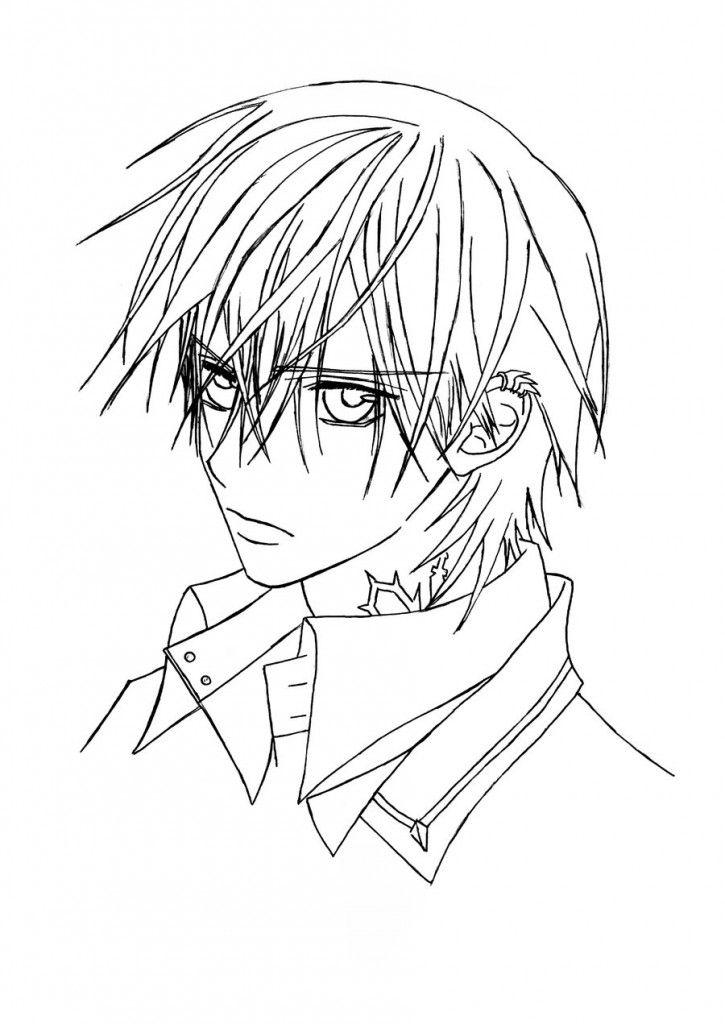 Vampire Knight Coloring Pages Google Search Coloring Pages