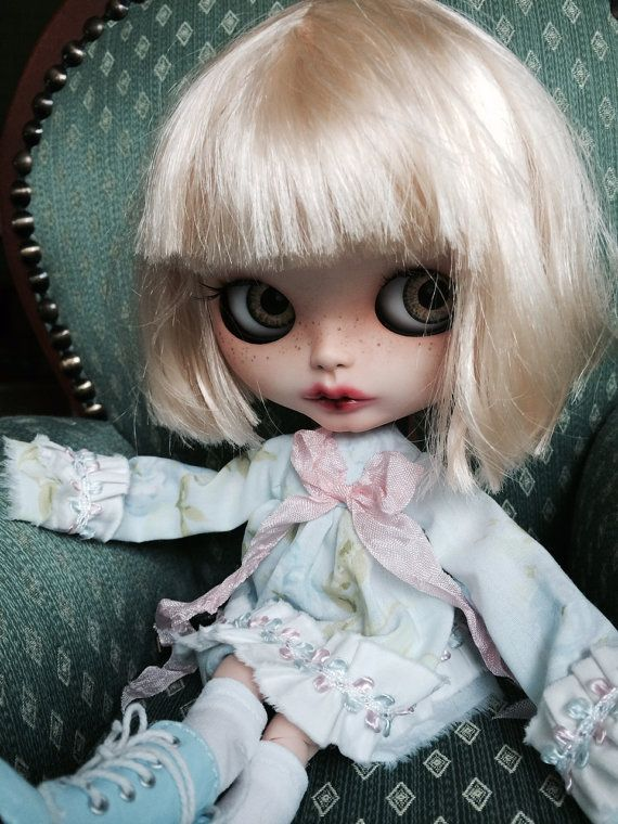 RESERVED for Kristine- Custom Order Blythe Doll, OOAK named ZuZu,  by EmmyB.lythe