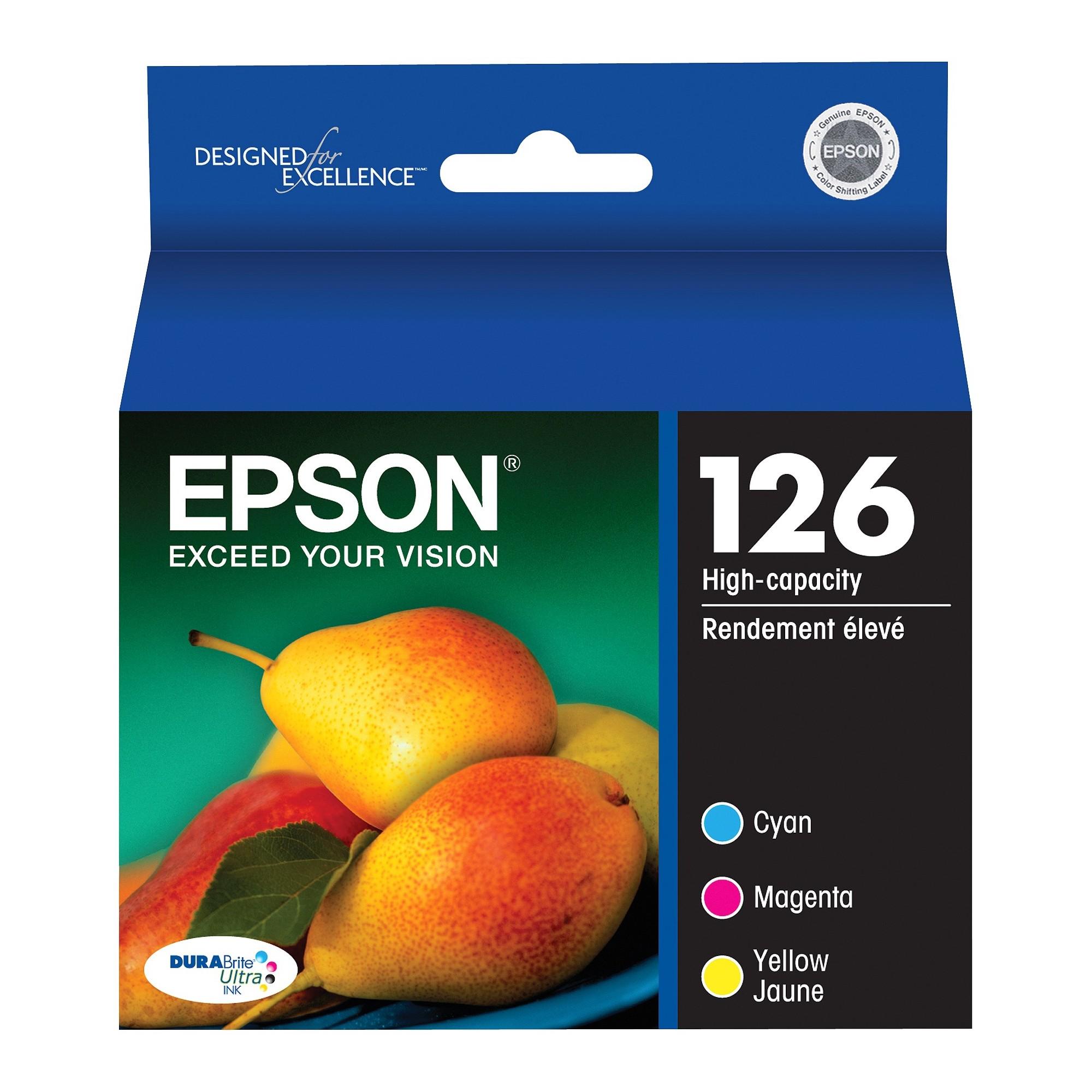 Epson 126 Color Ink Cartridges Products Pinterest Toner Tinta 126a Cmyk Hp Laserjet