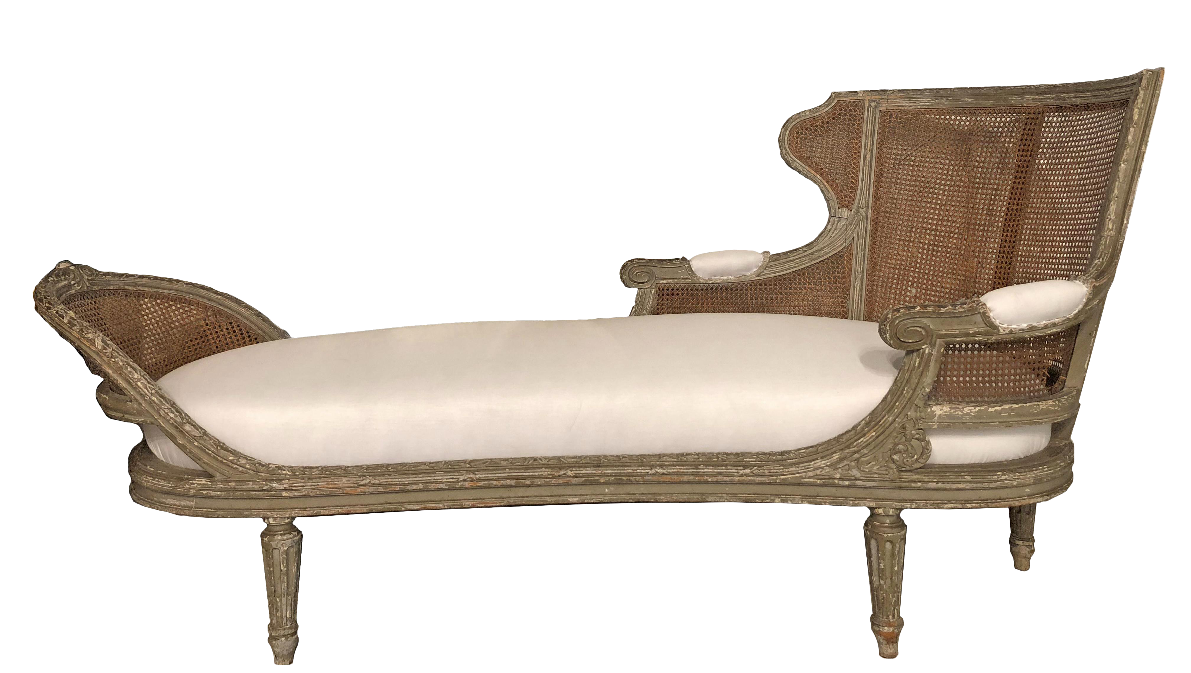 Chaise Caned Master 1850 Antique LoungeAbigal's French Bedroom dsQhrtC