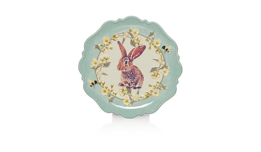 George home rabbit plate read reviews and buy online at george at george home rabbit plate read reviews and buy online at george at asda shop negle Images