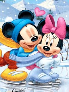 Mickey And Minnie Mobilclub Wallpapers