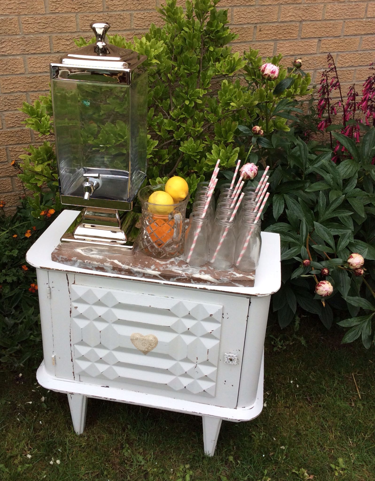 Candy cart hire wedding hire wedding events vintage chest party hire