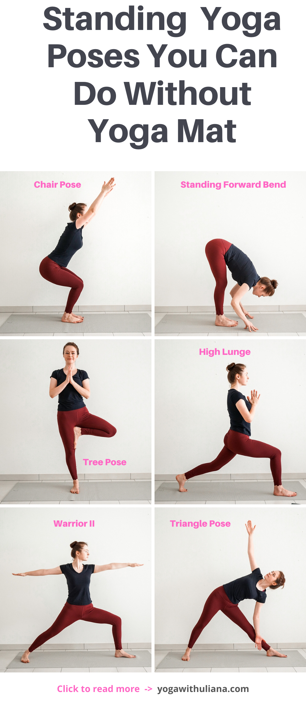 Standing Yoga Poses For Office