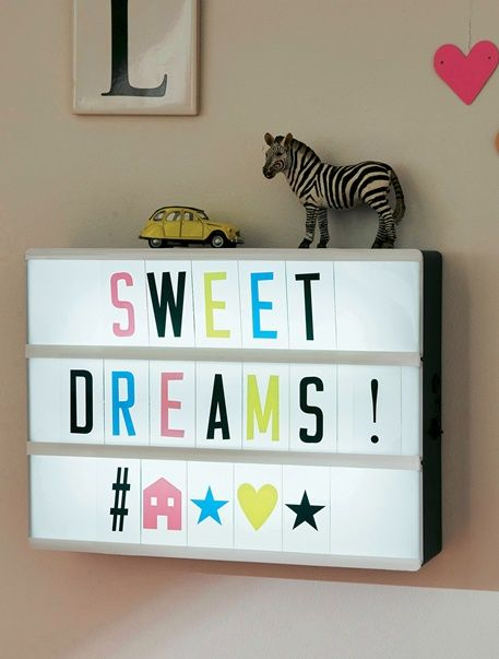 bo te messages lumineuse enfant noir multicolore vertbaudet chambre b b pinterest lights. Black Bedroom Furniture Sets. Home Design Ideas