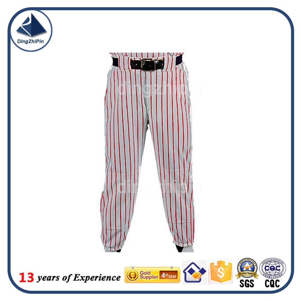 sublimated stripe printing tracksuits Martial Arts 100% polyester baseball pant #baseball, #art