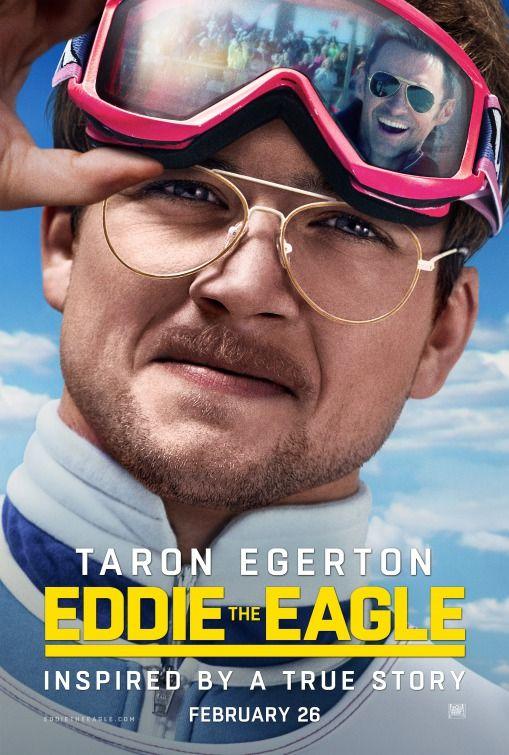 Eddie The Eagle Movie Poster 6 Cartazes De Cinema Filmes Filme 2019