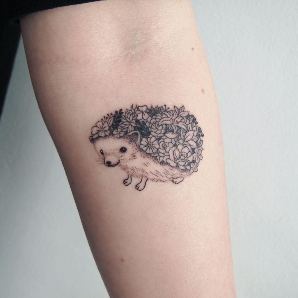 Tenerissimi Tatuaggi Con Ricci E Porcospini Idee E Significato