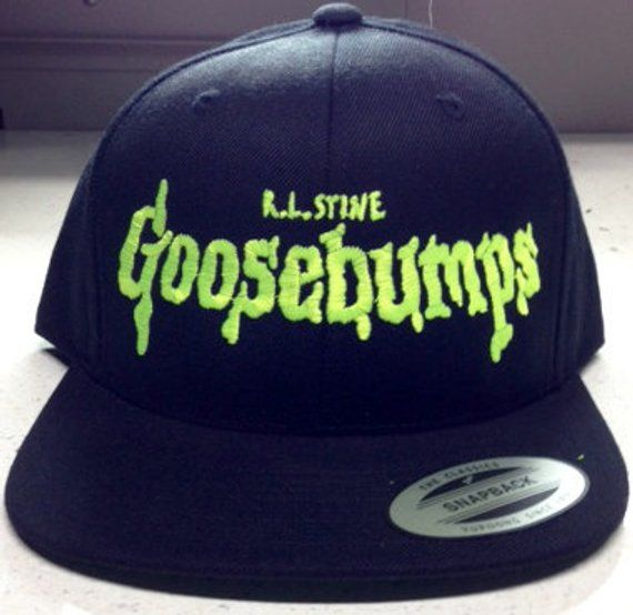 50d164bf129 VINTAGE 90 s GOOSEBUMPS HAT by lazygirlclothing on Etsy