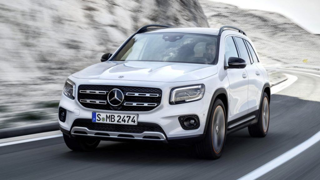 Mercedes Benz Glb Revealed Seven Seat Compact Suv To Arrive This