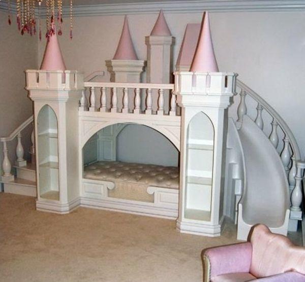 Hochbett selber bauen mädchen  Disney Schloss Bett für Mädchen | Sofie room | Pinterest ...