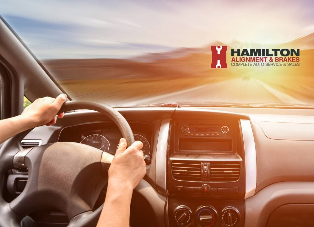 Is your steering wheel getting tight and hard to turn? Call Hamilton