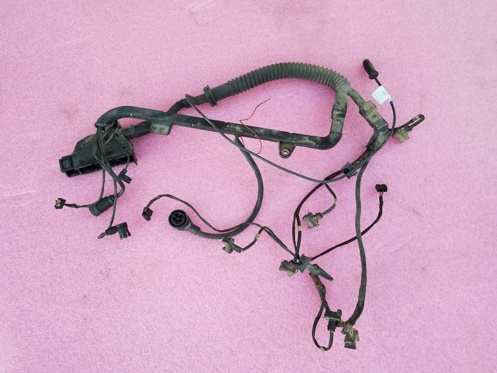 93-95 mercedes s500 s420 updated engine wiring harness 140 ... on