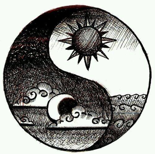 Drawing Yin Yang Drawings In 2019 Pinterest Yin Yang