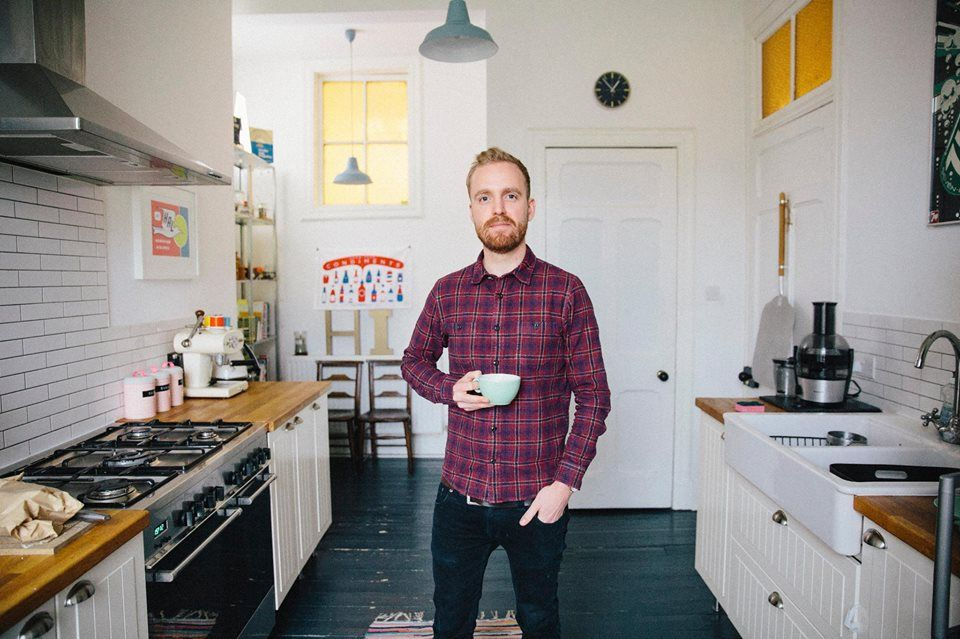 """I'm not vegetarian, but my girlfriend is. I used Pinterest quite a lot when we started going out for what dishes I could make."" - Adam in Edinburgh"