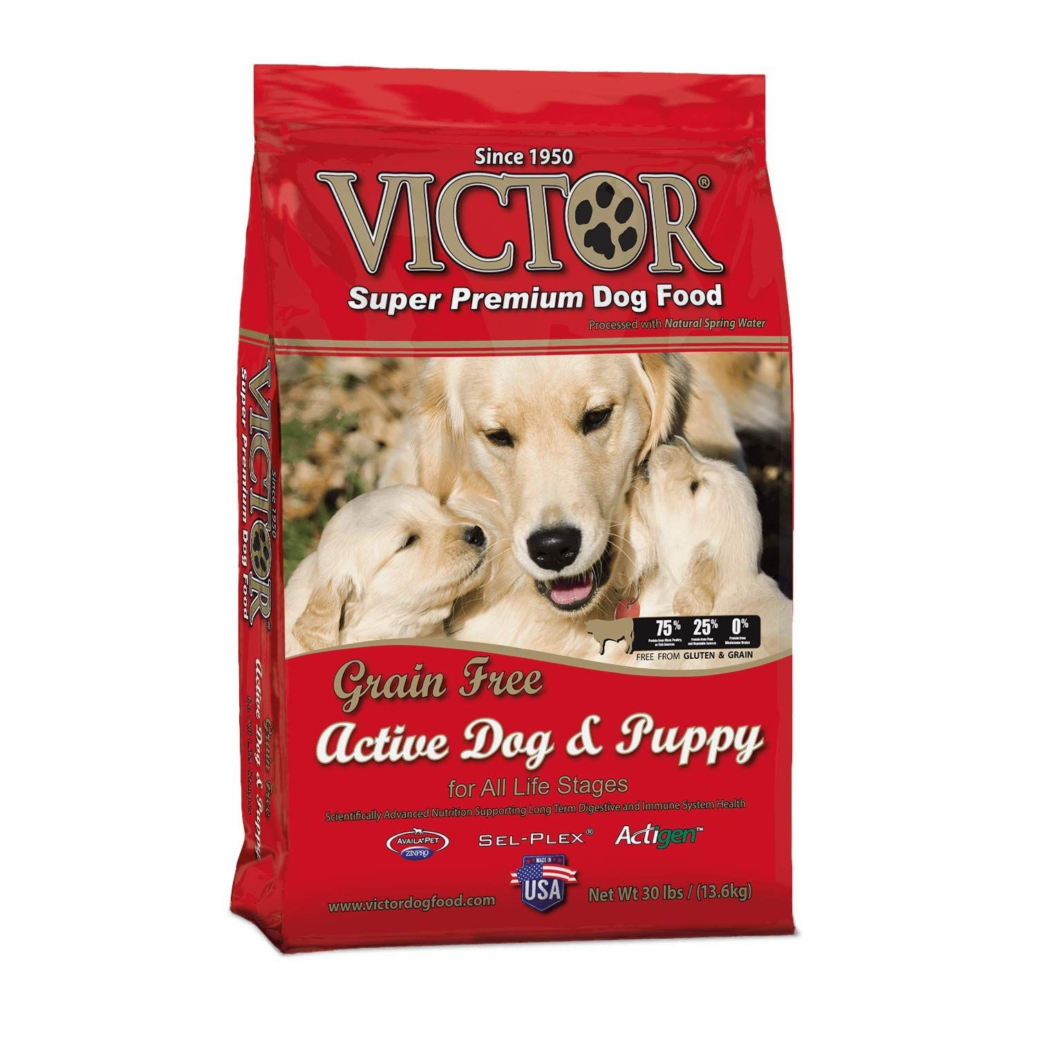 Victor Dog Food Grain Free Active Dog And Puppy Beef Meal And