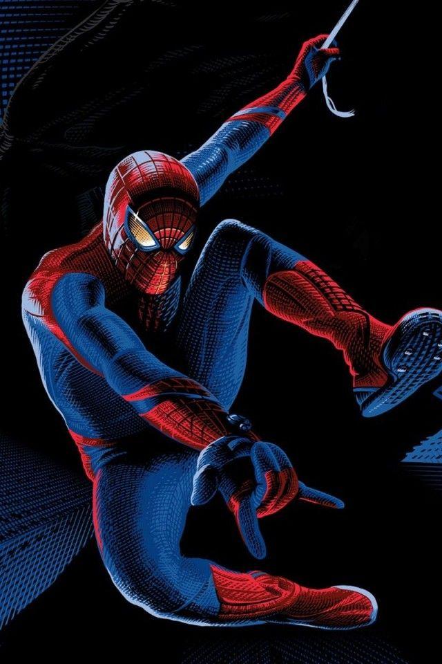 Spiderman iPhone Wallpaper cartoons Pinterest