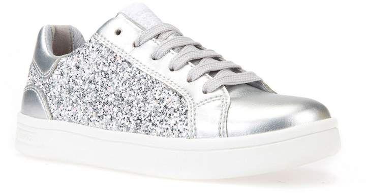 Geox DJ Rock Glitter Low Top Sneaker