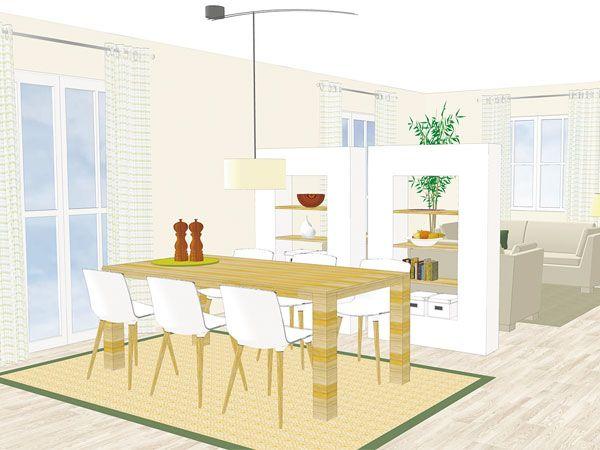 Raumteiler sorgen für Veränderung im Wohnzimmer | Raumteiler ...