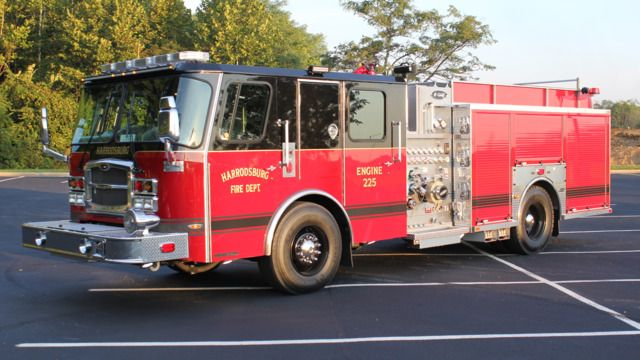 Harrodsburg, KY, Fire Department has taken delivery of an E