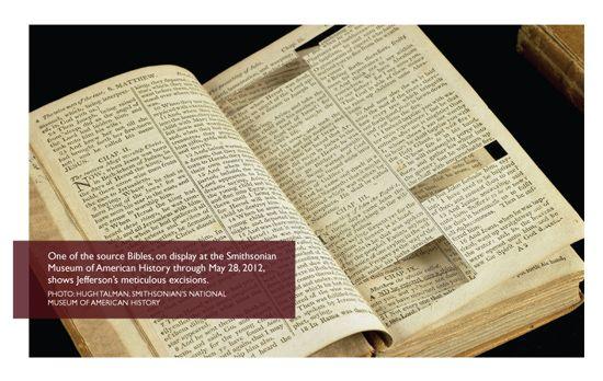 Take The Bible Seriously Not Literally Jefferson Bible Bible Thomas Jefferson