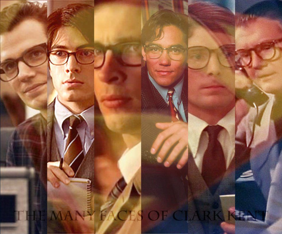 Clark Kent Supermanman Of Steel Henry Cavill Tom Welling George Reeves Christopher ReeveDean Cain Brandon Routh By Folc4evernaday