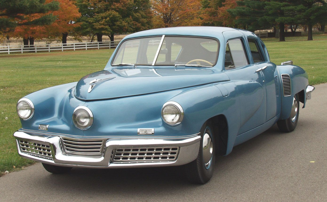 Several 1948 Tucker Automobiles Will Be Part Of The Show Field At