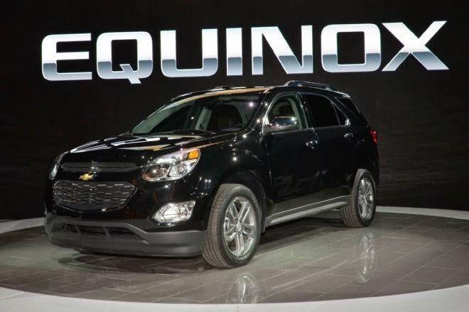 Updated 2016 Chevrolet Equinox Revealed Chevrolet Equinox Chevy