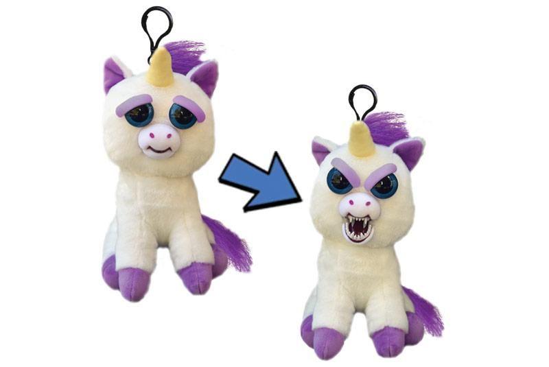 Feisty Pets Mini Glenda Glitterpoop Unicorn stuffed animal
