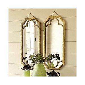 wished I would have picked these up.  Ballard Designs Abbey mirror.