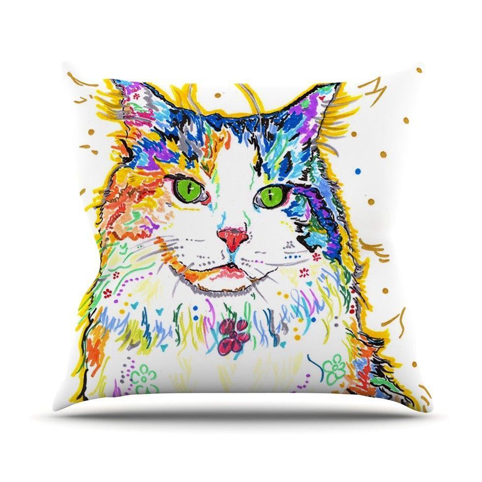 Royal Outdoor Throw Pillow